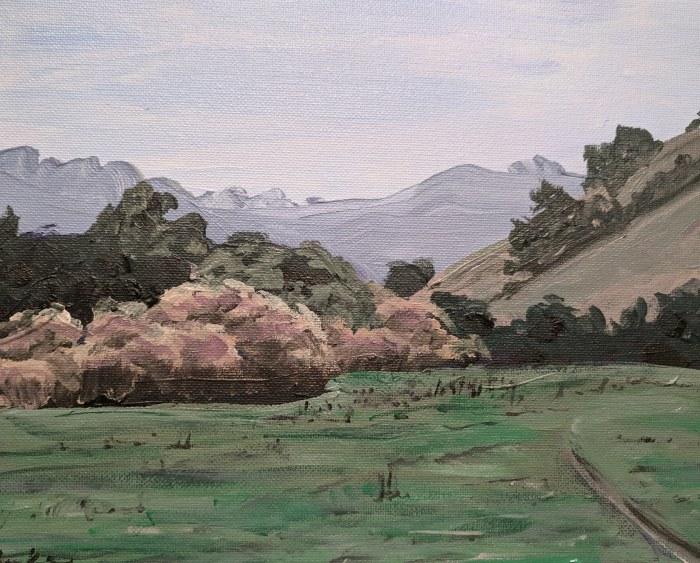 valley trail, briones