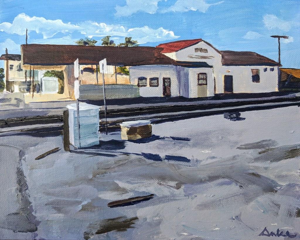 pomona train station